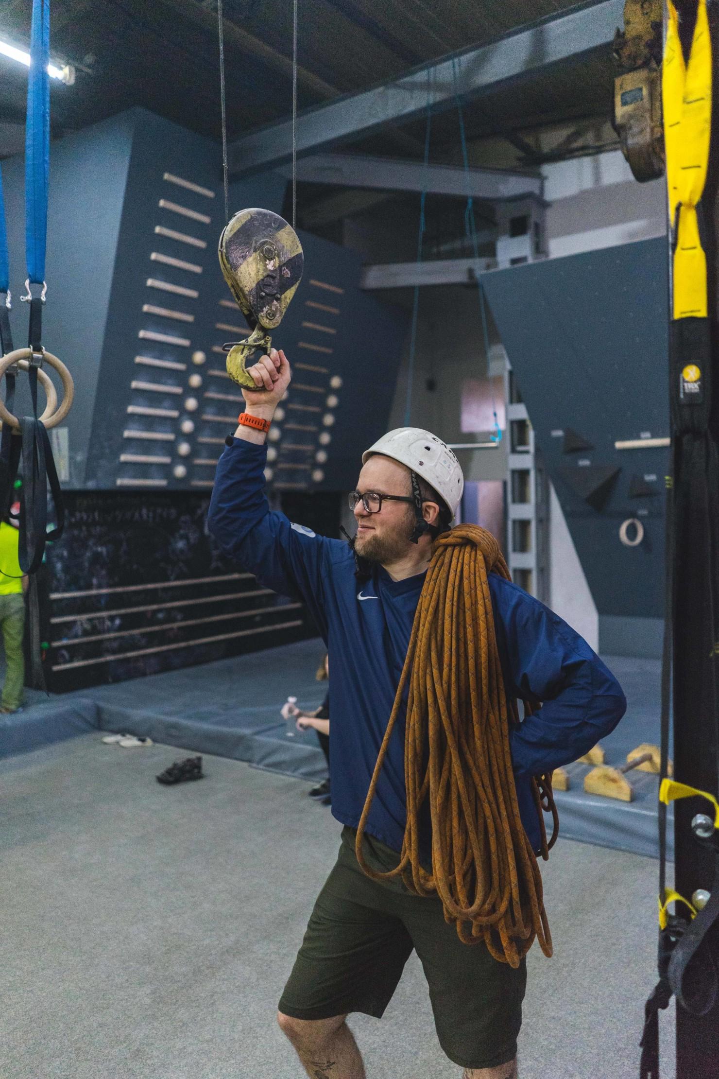 Инструктаж и техника безопасности на скалодроме